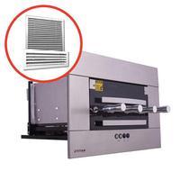 Churrasqueira Elétrica de Embutir 4 Espetos Inox AEE-04 Com Kit Ventilação Titan -