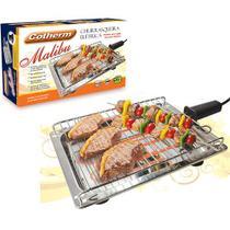 Churrasqueira Elétrica Malibu Inox 1650W - Cotherm -