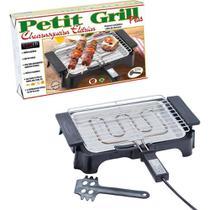 Churrasqueira Elétrica Petit Grill Plus com Grelha Removível e Espátula para Limpeza 127v - Anurb