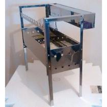 Churrasqueira para espetinhos a carvão com sistema giratório 110v - Girogrill