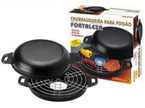 Churrasqueira para Fogão Grill Antiaderente 30 cm - Fortaleza -