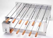 Churrasqueira Rotativa Inox Dupla Crid 11 Espetos 127v - Arke -
