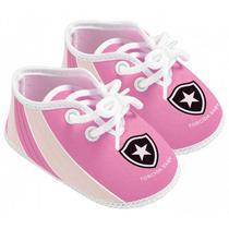 Chuteira Bebê Botafogo Rosa Oficial - Torcida Baby ccf5228d46920
