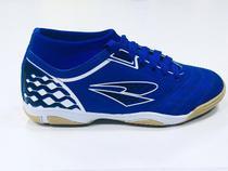 Chuteira Dray Styfel Short Futsal 461 Adulto - Azul/Marinho -