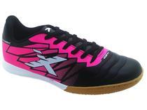 Chuteira Feminina Futsal / Salão Oxn Dynamic - Preto e Rosa -