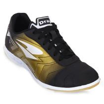 8ba8142855 Chuteira Futsal Dray Foorcy VI Adulto - Preto Ouro