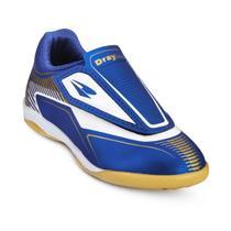 8b8f19c49ddfe Chuteira Futsal Drayzinho Infantil 157 - Azul Ouro