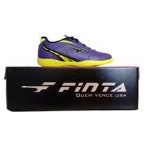 Chuteira Futsal Finta Infantil Eternity Pvc -