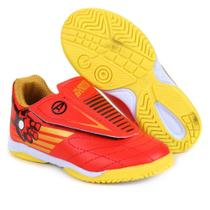 Chuteira Futsal Infantil Marvel Homem de Ferro c/ Velcro II -