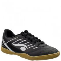 Chuteira Tênis de Futsal DSix 6204 - Preto/Branco -