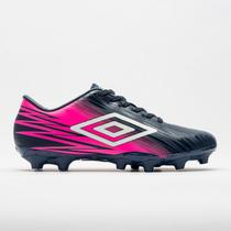 Chuteira umbro hit campo rosa of70084 -