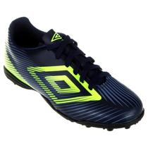 Chuteira Umbro Society Speed Ii Junior Azul -