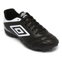 b76a4e1993214 Chuteira Umbro Society Striker Iv Preto/Branco OF71086 -