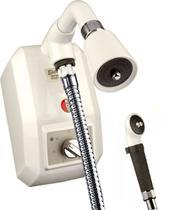 Chuveiro Eletrônico Kdt Branco C/ Desviador 220v 8800w -