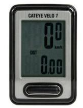 Ciclocomputador Cateye C Vl520 Velo 7 - Preto -