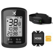 Ciclocomputador Gps Xoss G+ Cadencia Sensor Cardiaco -