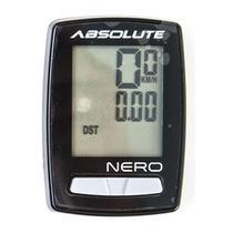 Ciclocomputador Nero 10 Funções Com Fio Absolute Preto -