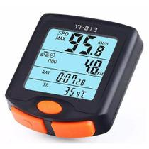 Ciclocomputador Odômetro Bicicleta Bike Multi Funções Com Fio YT-813 - Lei Li Imports