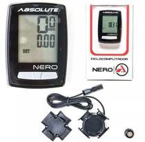 Ciclocomputador Velocímetro Bike 10 Funções Absolute Nero -