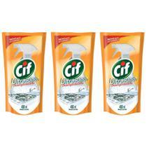 Cif Ultra Rápido Desengordurante 450ml (Kit C/03) -