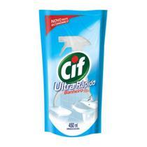 Cif Ultra Rápido Limpa Banheiro S/ Cloro 450ml -