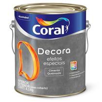 Cimento Queimado Imensidão Cinza 4.1kg - Coral -