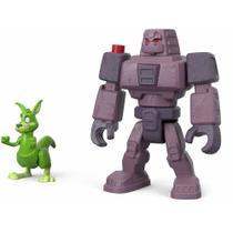 Cinderblock e Mutano Canguru - Teen Titans - Imaginext - Fisher-Price -