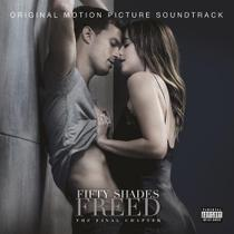 Cinquenta Tons de Liberdade - Fifty Shades Freed - Trilha Sonora Original - Universal (cds)
