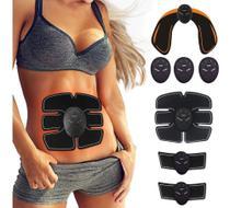 Cinta Abdominal Emagrecedora Modeladora Unissex + Bumbum - Slu Fitness