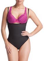 cinta Body emborrachada compressão feminina modeladora Esbelt -