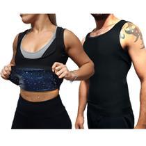 Cinta Camiseta Emagrecedora Esquenta Efeito Sauna Nova - Exclusivo
