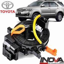 Cinta Fita Airbag Hilux Sw4 Com Controle Som Volante Buzina - Toyota