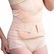 Cinta Pós Parto Gravidez Gestante Redução ajustável veste de 75 a 105 cm de cintura cor BEGE - Bichall
