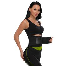 Cinta Térmica Ajustável Modeladora Cintura Abdominal Fitness - Mbfit