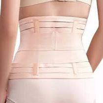 Cinta Térmica Ajustável Modeladora Cintura Redutora Abdominal Cor Preta e Bege Veste 75 a 105 cm - Top