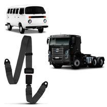 Cinto de Segurança 2 Pontos Dianteiro Traseiro Caminhão Kombi 1957 a 2014 Cinza Estático - Dialp