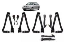 Cinto de Segurança Completo Retrátil Volkswagen Gol G4 5 Bancos - Dialp ami cintos