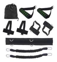 Cinto de Tracao Exercicio Corda Resistencia Elastico Extensor Fitness Boxing Pull Rope Academia - Getit Well