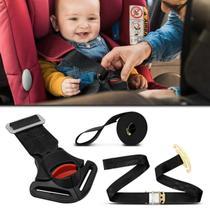 Cinto Segurança Para Cadeirinha Infantil Ajustável Universal Preto G1 9 à 18kg e G2 15 à 25kg - Dialp