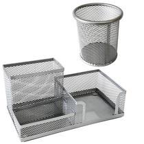 cj Porta Lápis + Porta Treco Organizador Mesa Escritório Kit conjunto - Luthi Presentes