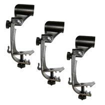 Clamp de Microfone Samson DMC100 Kit com 3 Unidades Compatível com Diversas Marcas -