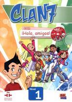 Clan 7 con hola, amigos! 1 libro del alumno + extension digital - Edinumen -