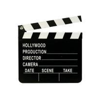 Claquete Português Para Estúdio De Cinema Tv Decoração 20X18 - Fwb