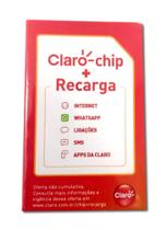 Claro-chip com recarga -
