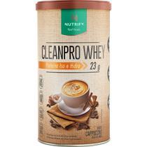 Cleanpro Whey Iso e Hidro - 450g Cappuccino - Nutrify -
