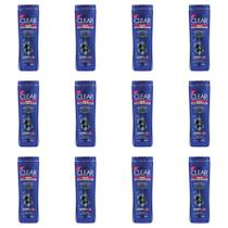 Clear Men Limpeza Profunda Shampoo 200ml (Kit C/12) -