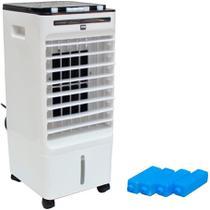 Climatizador Umidificador de Ar Frio Portátil 6 Litros 3 Velocidades Ambiente Importway IWCAU - 110v -