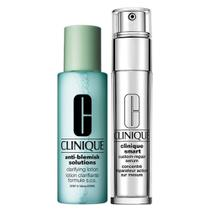 Clinique Anti-Idade + Loção Kit - Smart Custom Repair Eye Treatment + Clarifying Lotion -