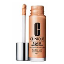 Clinique Beyond Perfecting Foundation + Concealer Chamois - Base 2 em 1 30ml -