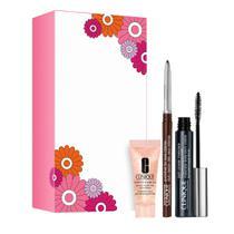 Clinique Power Lashes Kit  Gel para olhos + Máscara de Cílios + Lápis Delineador -